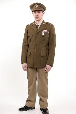 World War II Style Army Dress Uniform by Uncle Sam in The Longest Ride
