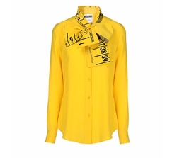 Long Sleeve Shirt by Moschino in Empire