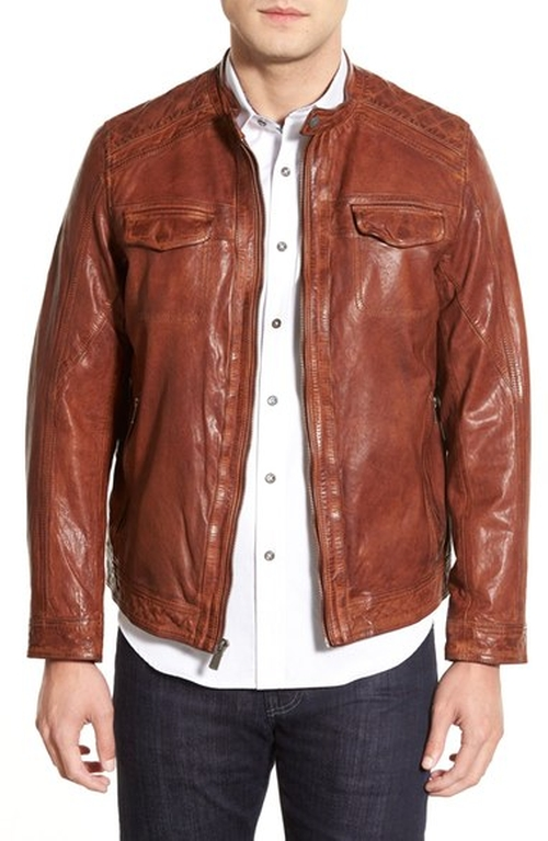 Washed Leather Jacket by Missani Le Collezioni in Supernatural - Series Looks
