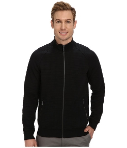 Quilted Full Zip Jacket by Kenneth Cole Sportswear in Twilight