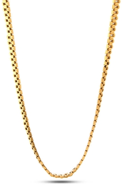 Gold 10MM Rolex Link Chain Necklace by King Ice in American Ultra