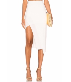 Bridgette Midi Skirt by Lovers + Friends in Baywatch