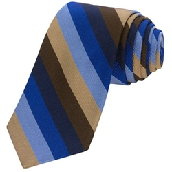 Ticino 1 Bold Stripe Tie by Altea in Suits