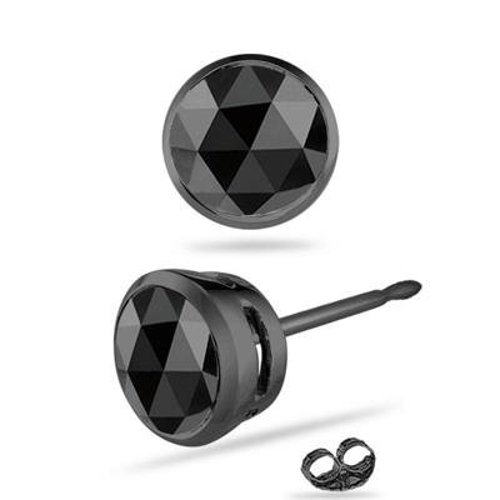 Cut Black Diamond Stud Earrings by Vogati in The Divergent Series: Insurgent
