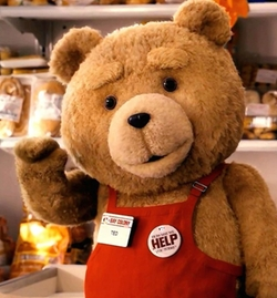 Ted by Daniel Jeannette (Character Design Concept) in Ted 2