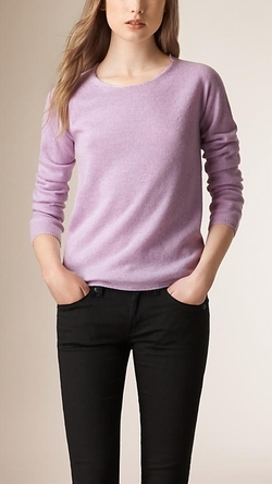 Seamless Cashmere Sweater by Burberry in Suits