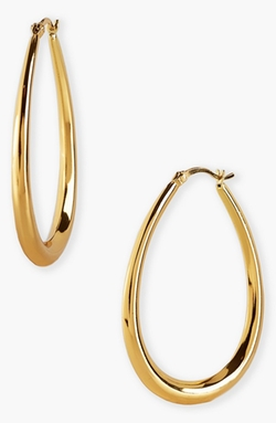 Teardrop Hoop Earrings by Argento Vivo in Jem and the Holograms