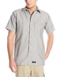 Men's Short Sleeve Work Shirt by Wrangler Workwear in Top Five