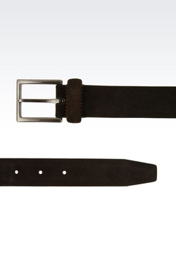 Suede Belt by Giorgio Armani in Scandal