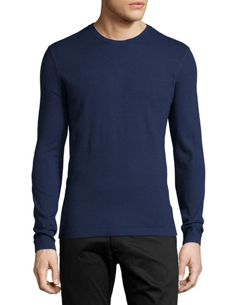 Brettos Bilen Crewneck Sweater by Theory in Guilt