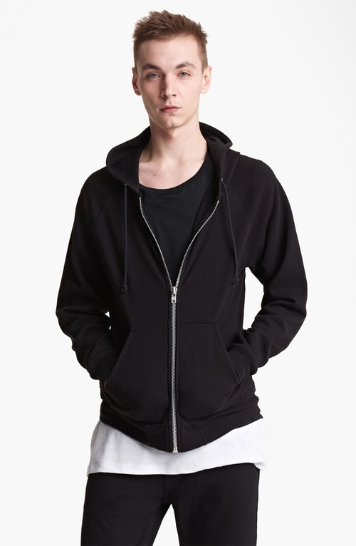'Sweatshirt 3' Zip Hoodie by BLK DNM in Kingsman: The Secret Service