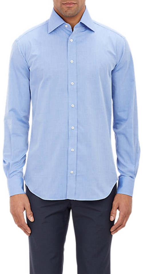 End-On-End Dress Shirt by Piattelli in Fight Club