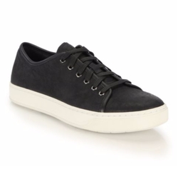 Austin Nubuck Lace-Up Sneakers by Vince in Ballers