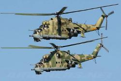 Mi-24P by Mil in A Good Day to Die Hard