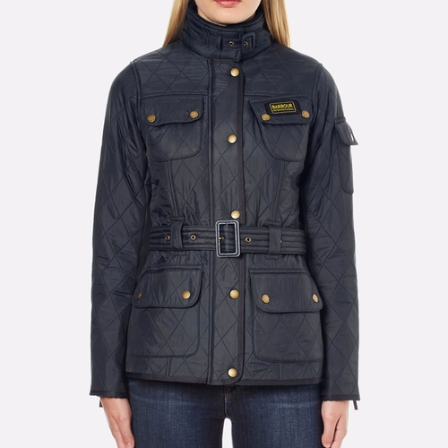 Polarquilt Jacket by Barbour International in How To Get Away With Murder - Season 3 Episode 6