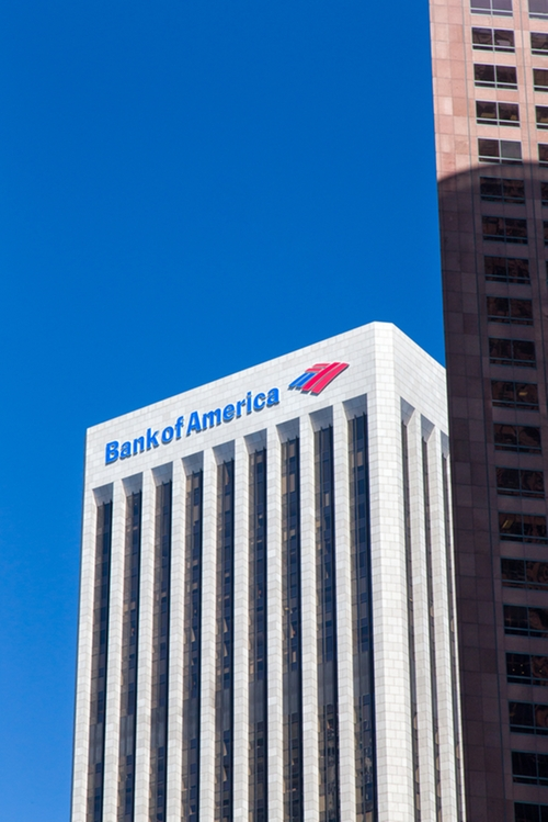 Bank of America Los Angeles, California in Furious 7