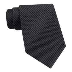 Zig Zag Silk Tie by Van Heusen in Vice