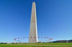 Washington, D.C. by Washington Monument in The Bourne Legacy