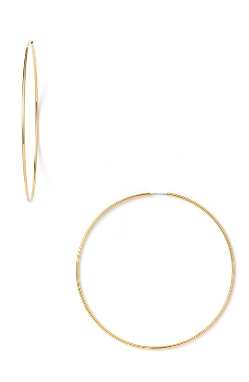 Endless Oversized Hoop Earrings by Nordstrom in Get Hard
