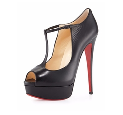 Altapoppins T-Strap Platform Pump by Christian Louboutin in Girls Trip