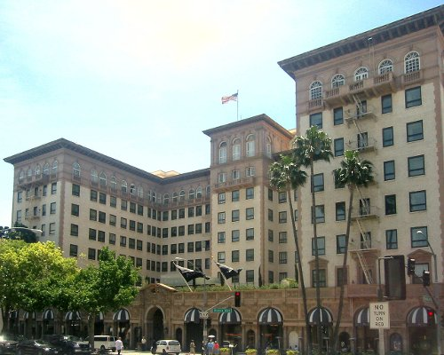 Beverly Wilshire Hotel Beverly Hills, California in Entourage