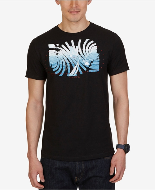 Men's Graphic-Print T-Shirt by Nautica in Why Him?