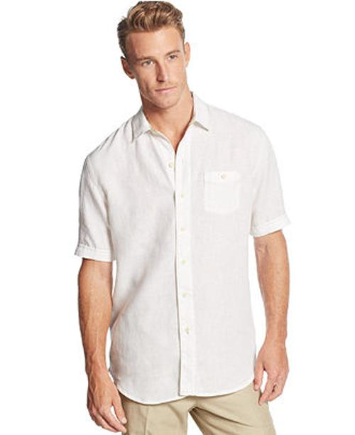 Party Breezer Linen Shirt by Tommy Bahama in The Other Woman