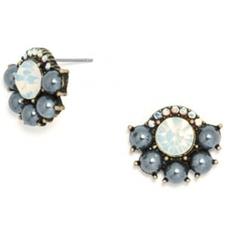 Blue Frost Stud Set Earrings by Baublebar in Pretty Little Liars