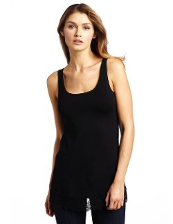 Women's So Fine with Lace Tank Tunic by Only Hearts in Fast & Furious 6