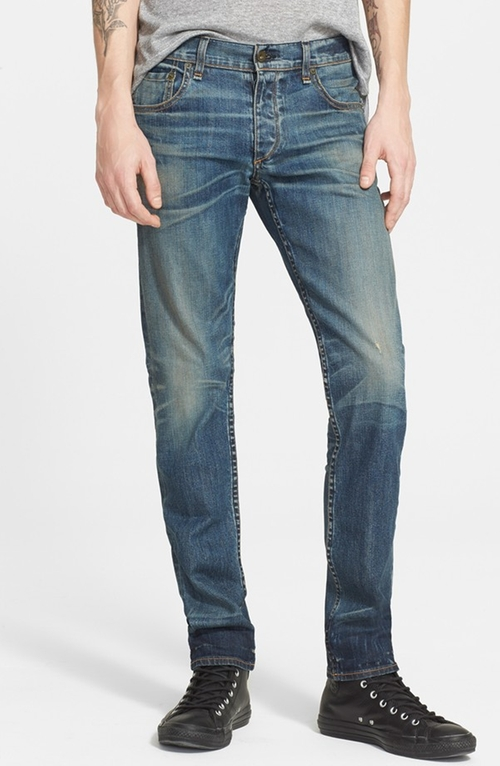 'Fit 2' Stretch Denim Jeans by Rag & Bone in Vacation