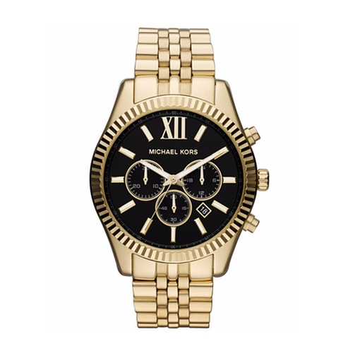 Chronograph Lexington Bracelet Watch by Michael Kors in Animal Kingdom - Season 1 Episode 1