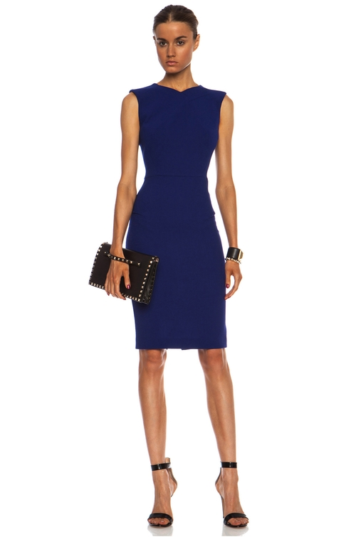 Sesia Wool Dress by Roland Mouret in Suits - Season 5 Episode 6