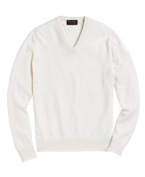 Cashmere V-Neck Sweater by Brooks Brothers in Sex and the City