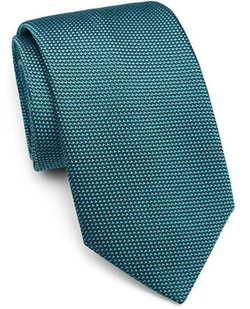 Textured Silk Tie by Charvet in Suits