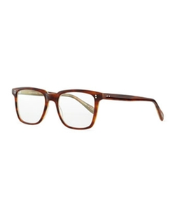NDG Brown Tortoise Glasses by Oliver Peoples in Suits