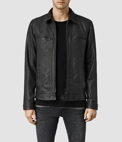 Leather Jacket by All Saints in The Departed