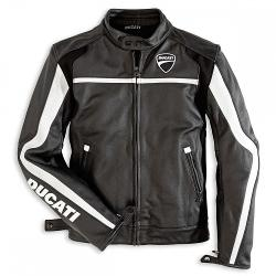Twin Leather Jacket by Ducati in Addicted