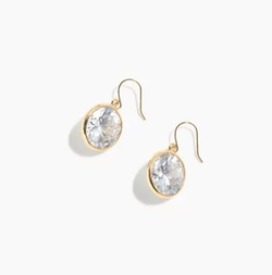 Crystal Drop Earrings by J.Crew in Pitch Perfect 3