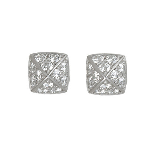 Diamond La Pyramide Trois Stud Earrings by Linda Lee Johnson in Empire - Season 2 Episode 18