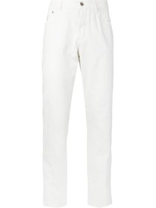 Straight Leg Trousers by Brunello Cucinelli in By the Sea
