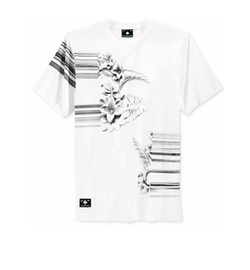 Men's Floral Optics Graphic-Print T-Shirt by LRG in Why Him?