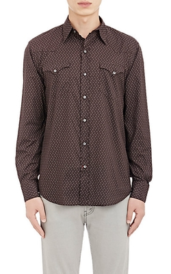 Western Shirt by Ralph Lauren Black Label in Black-ish