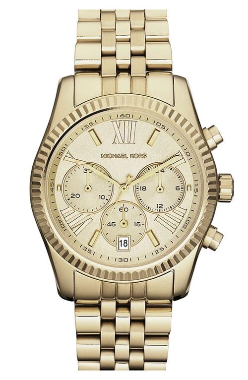 'Lexington' Chronograph Bracelet Watch by Michael Michael Kors in We Are Your Friends