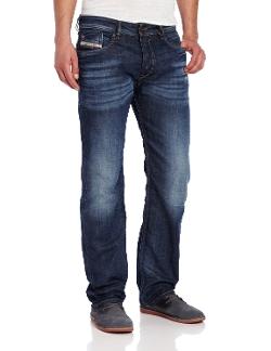 Waykee Regular Straight-Leg Jeans by Diesel in Poltergeist