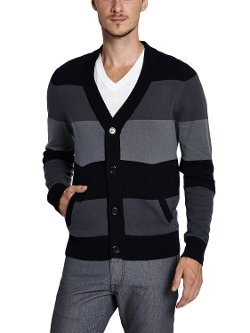 Men's Delray Cardigan Sweater by G by GUESS in Hall Pass