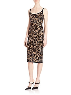Illusion Lace Tank Dress by Michael Kors Collection in The Good Fight
