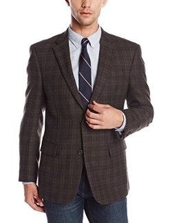 Men's Willow Lambswool Plaid Blazer by Tommy Hilfiger in Before I Wake