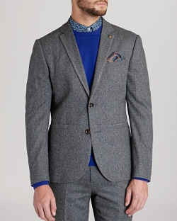 Forel Wool Flannel Blazer by Ted Baker in The Longest Ride
