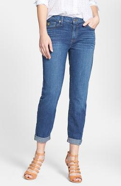 Cuff Boyfriend Jeans by Yoga Jeans by Second Denim in Tammy