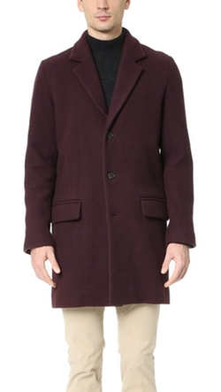 Lewis Overcoat by A.P.C.  in The Blacklist